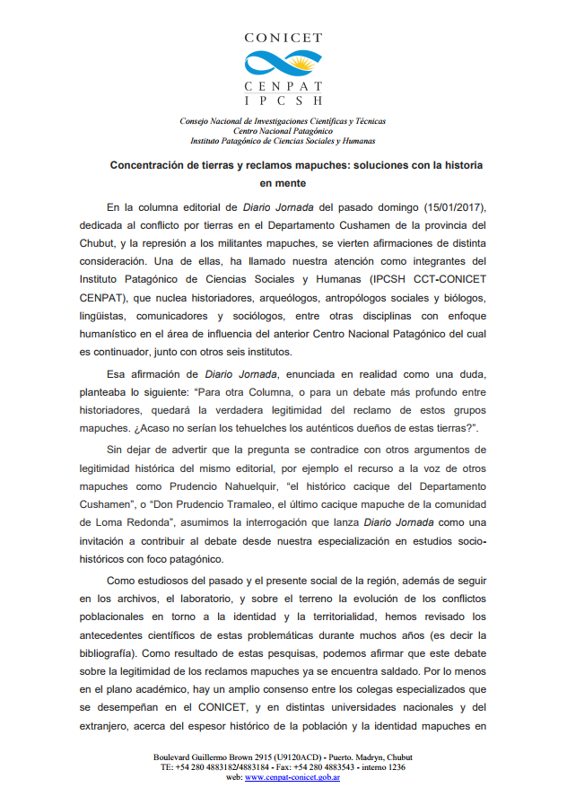 Editorial-IPCSH-cuestion-mapuche