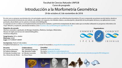 Curso Morfometría Geométrica